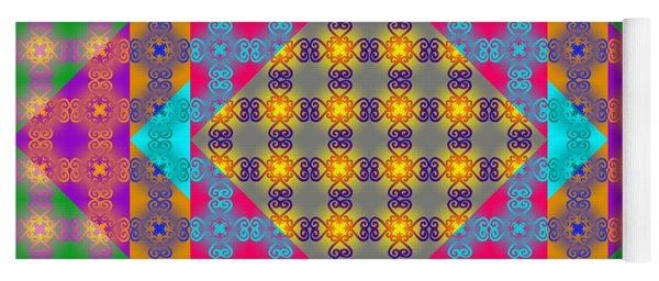 Sankofa Kaleidoscope Prime 2 Yoga Mat