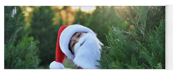 Santa Claus Is Coming To Town Yoga Mat