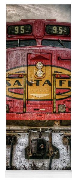 Santa Fe Train Engine Yoga Mat