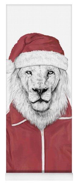 Santa Lion  Yoga Mat