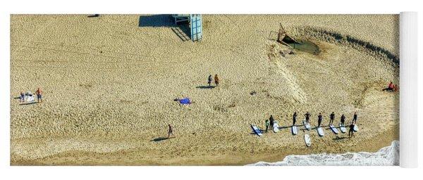 Santa Monica Beach 2 Yoga Mat