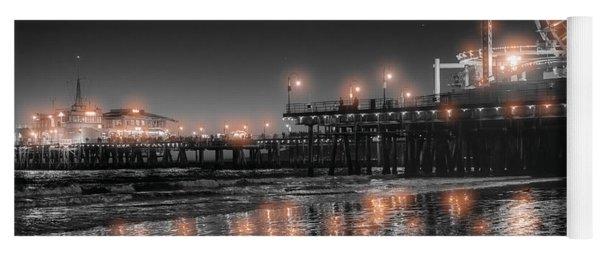 Santa Monica Glow By Mike-hope Yoga Mat