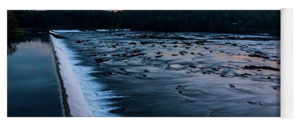 Savannah Rapids Sunrise - Augusta Ga Yoga Mat