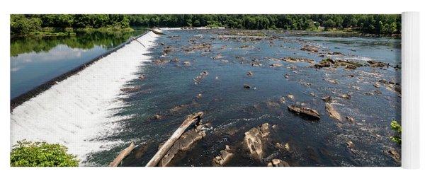 Savannah River Rapids - Augusta Ga Yoga Mat