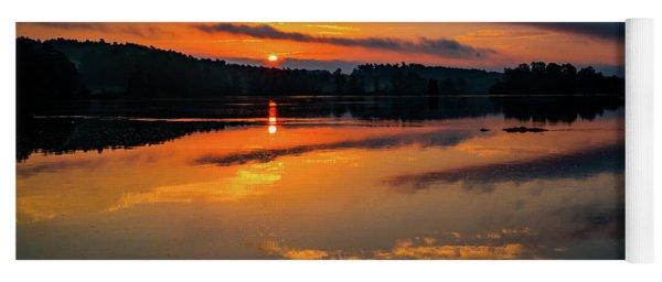 Savannah River Sunrise - Augusta Ga 2 Yoga Mat
