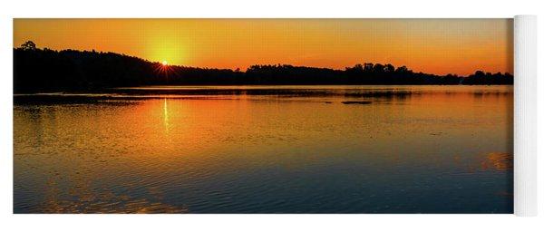 Savannah River Sunrise - Augusta Ga Yoga Mat