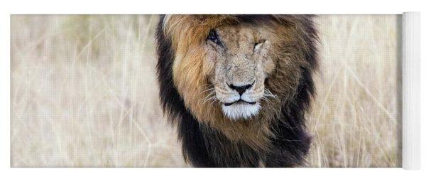 Scar The Lion Yoga Mat