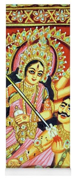 Scenes From The Ramayana Yoga Mat