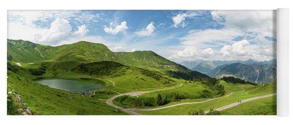 Schlappoldsee, Allgaeu Alps Yoga Mat