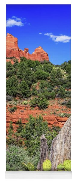 Schnebly Hill View, Sedona Yoga Mat