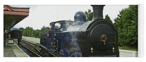 Scotland. Aviemore. Strathspey Railway. Yoga Mat