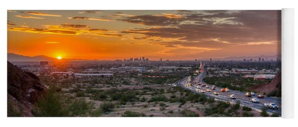 Scottsdale Sunset Yoga Mat