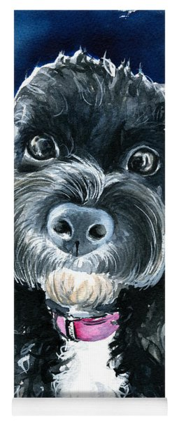Scout - Cavoodle Dog Painting Yoga Mat