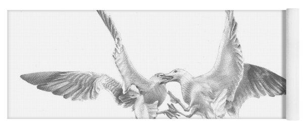 Sea-gulls Yoga Mat