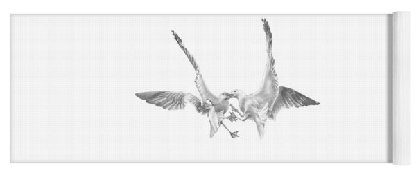 Sea-gulls Yoga Mat
