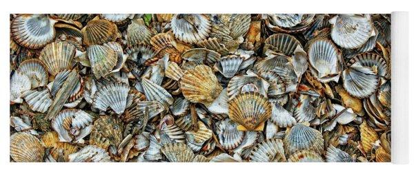 Sea Shells Yoga Mat