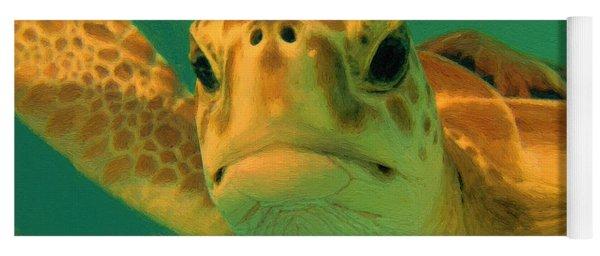 Sea Turtle Off The Mexican Coast - Dwp2086549 Yoga Mat