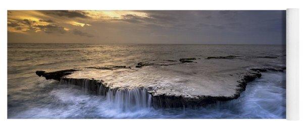 Sea Waterfalls Yoga Mat