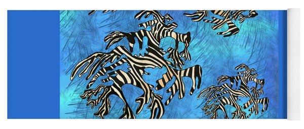 Sea Zebra Dragon 4 Yoga Mat
