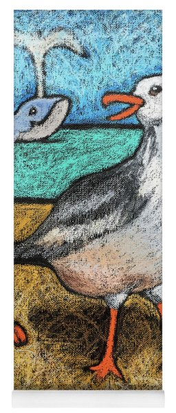 Seagull And Friends Yoga Mat