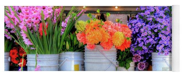 Seattle Flower Market Yoga Mat