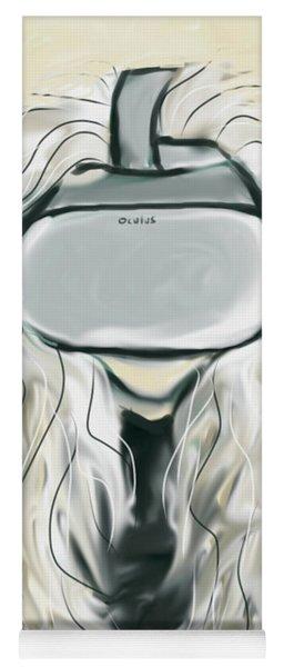 Self Portrait With Vr Headset  Yoga Mat