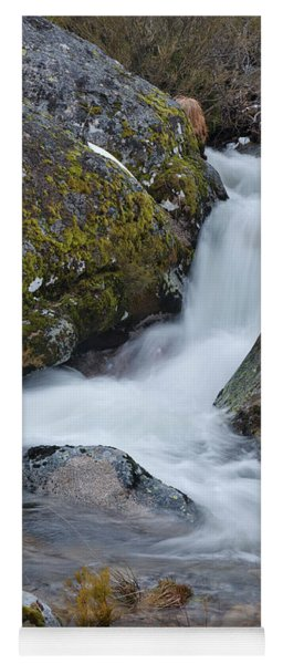 Serra Da Estrela Waterfalls. Portugal Yoga Mat