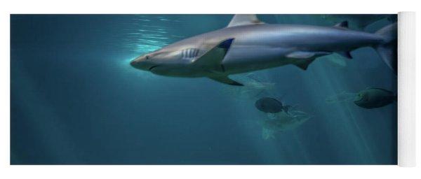 Shark Attack Yoga Mat