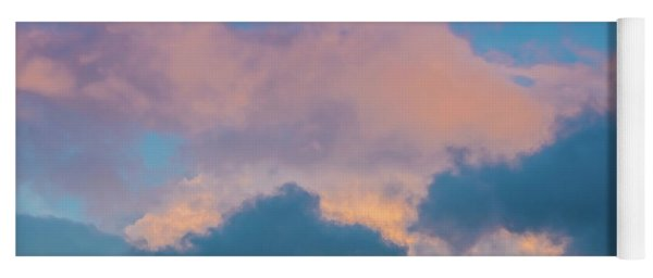 Shades Of Clouds Yoga Mat