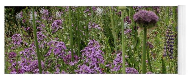 Shades Of Purple Yoga Mat