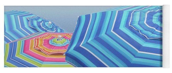 Shades Of Summer Yoga Mat