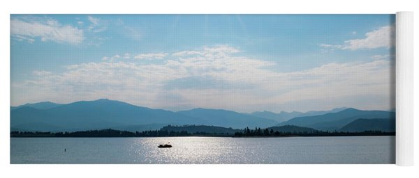 Shadow Mountain Lake Yoga Mat