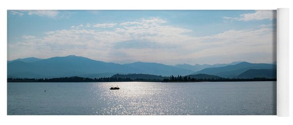 Yoga Mat featuring the photograph Shadow Mountain Lake by Nicole Lloyd