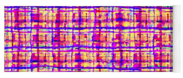 Shapes Lines And Colors - Ddf630 Yoga Mat