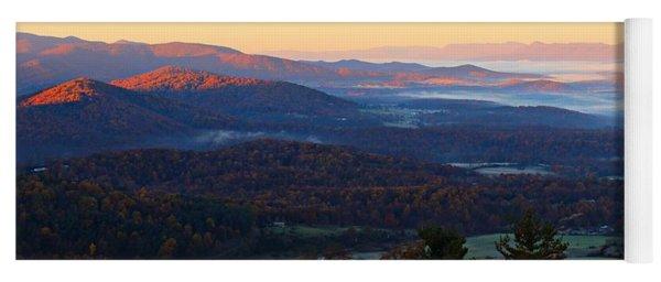 Shenandoah Mountains Yoga Mat