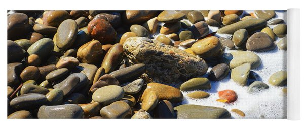 Shoreline Rocks Yoga Mat