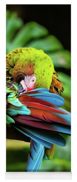 Shy Parrot Yoga Mat