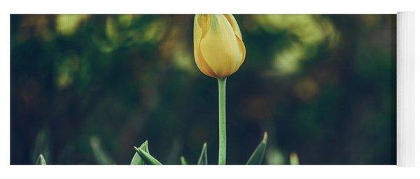 Silence Is Golden Yoga Mat