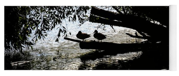 Silhouette Ducks #h9 Yoga Mat