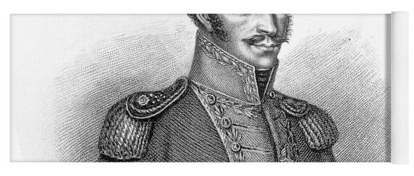 Simon Bolivar Venezuelan Statesman, Soldier, And Revolutionary Leader Yoga Mat