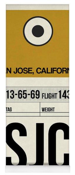 Sjc San Jose Luggage Tag I Yoga Mat