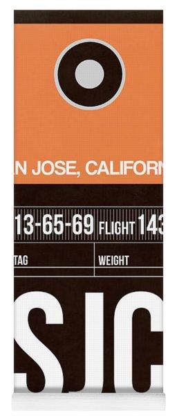 Sjc San Jose Luggage Tag II Yoga Mat