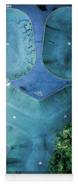 Skatepark - Aerial Photography Yoga Mat