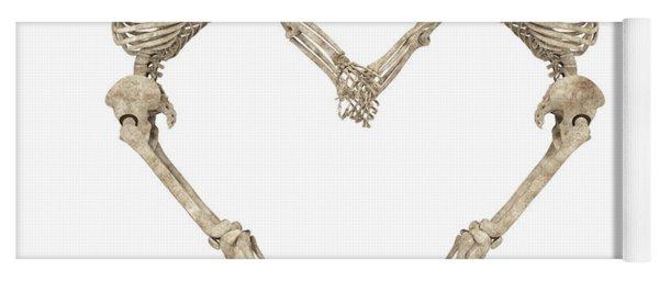 Skeleton Yoga 001 Yoga Mat