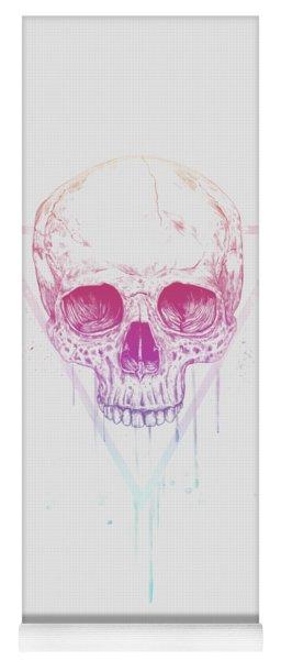 Skull In Triangle Yoga Mat