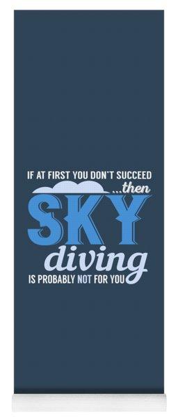 Sky Diving Yoga Mat