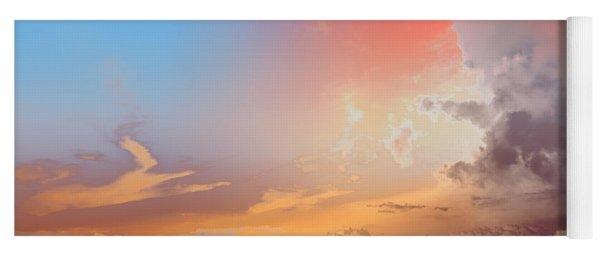 Sky Fight Yoga Mat