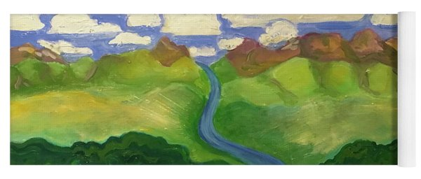 Sky River To Sea Yoga Mat