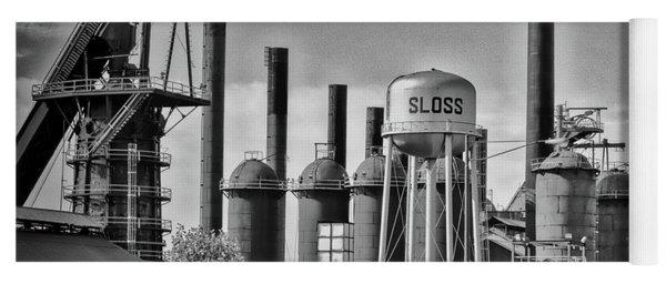 Sloss Furnaces Towers Yoga Mat