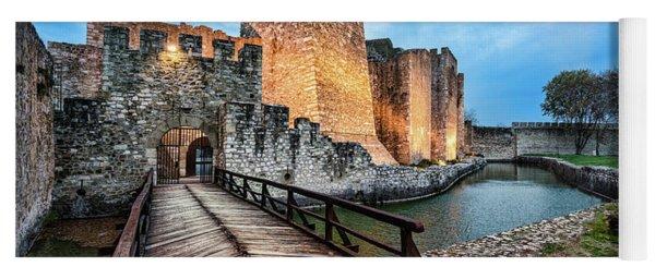 Smederevo Fortress Gate And Bridge Yoga Mat